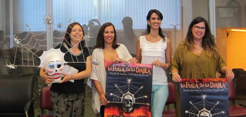 La secretaria general de Cultura, Miriam García, afirma que 'La Fuga de la Diabla' es un elemento dinamizador de Valverde de Leganés