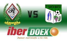 El Racing Valverdeño recibe al Santa Marta esta noche
