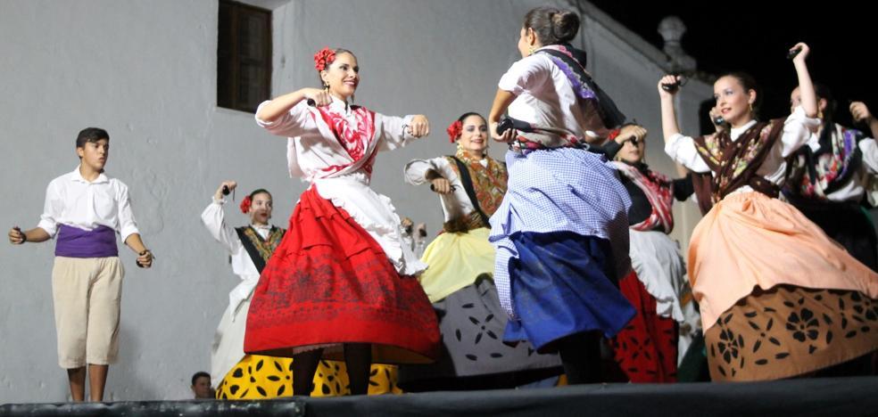 Mucha animación en el Festival Folklórico de los Pueblos del Mundo