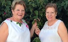 María y Laura, las hijas de Sergio