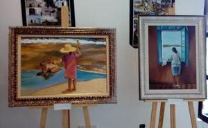 Curso de pintura en la Casa de la Cultura