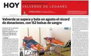 Se publica la edición 96 de HOY Valverde de Leganés