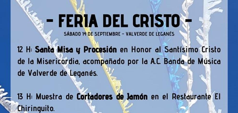 Actividades para este 14 de septiembre, Feria del Cristo