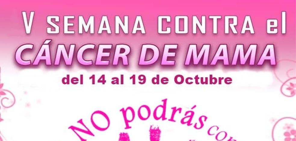 La V Semana Contra el Cáncer de Mama se celebra la semana que viene