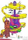 Chema Escalera, ganador del concurso del cartel del Carnaval