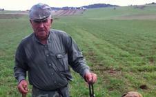 Juan Trejo Trejo, uno de los cazadores más veteranos de Valverde de Leganés