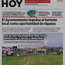 Publicada la edición 121ª de HOY Valverde de Leganés