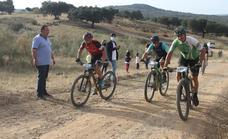 Trece valverdeños participan en la Ruta Ole Ole MTB que pasó por Valverde