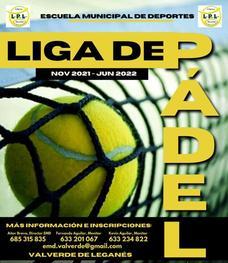 La Escuela Municipal de Deportes organiza una nueva edición de la Liga Local de Pádel