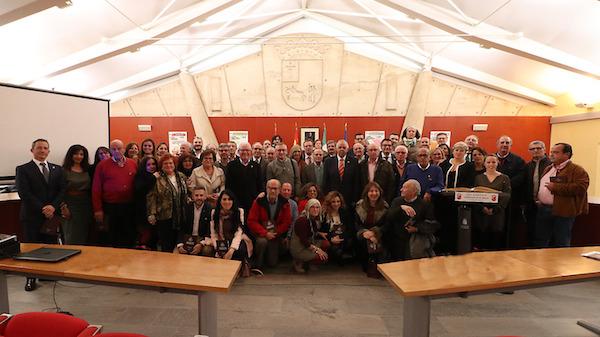 Los concejales del período 1979-2018 llenaron de recuerdos el salón de plenos por el 40º aniversario de la Constitución