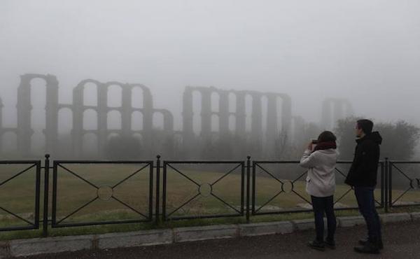 Villafranca de los Barros, con -5,3 grados, marca la mínima de Extremadura este sábado