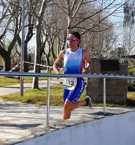 Importante incorporación de la atleta Mª Remedios Mendoza a la sección de triatlon