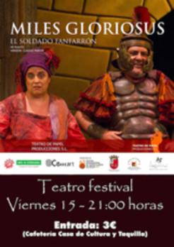 Exposición y Teatro inauguran hoy el fin de semana en Villafranca