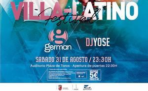 A la venta las entradas del I Festival Villa-Latino a celebrar el próximo sábado en la Plaza de Toros de Villafranca de los Barros