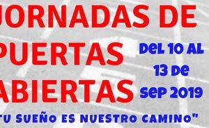 El Club Atletismo Perceiana de Villafranca de los Barros está de puertas abiertas hasta hoy viernes