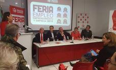 Más de 300 desempleados participaron en la feria de Empleo, Emprendimiento y Empresa de Villafranca