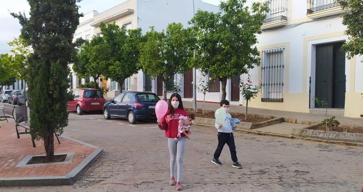 Los niños de Villafranca vuelven a las calles