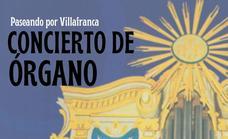 Concierto de órgano en la Coronada el 25 de septiembre