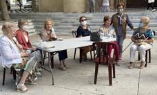 Los mayores de Villafranca festejaron ayer su día