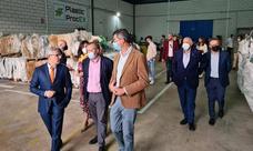 Inaugurada en Villafranca una empresa que apuesta por la economía circular, Plastic Procex
