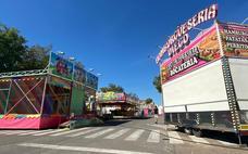 El Barrio del Pilar cuenta con una veintena de atracciones de feria