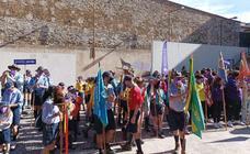 Los Scout Pedro de Valdivia participan en el encuentro de Scouts Católicos celebrado en Guadalupe