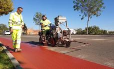 La circunvalación contará con un carril bici de 4,5 kilómetros por 135.000 euros