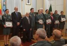 María Ángeles Moguel ha sido galardonada por su trayectoria en la Guardia Civil en Seguridad Ciudadana