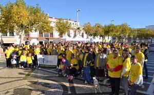 La III Caminata del AECC se viste de amarillo para visibilizar el cáncer infantil