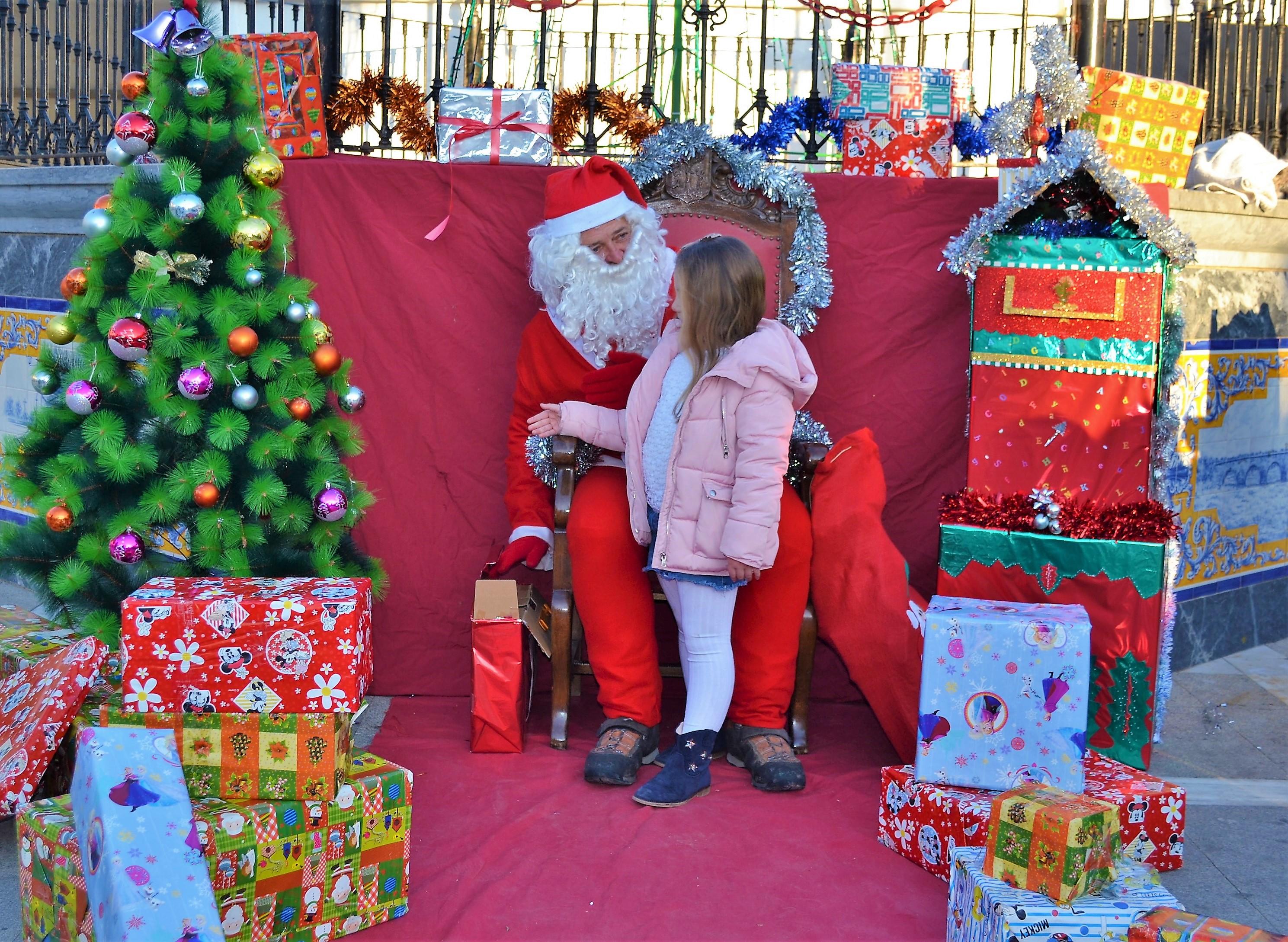 Papá Noel visitará la localidad para recoger las cartas de los más peques