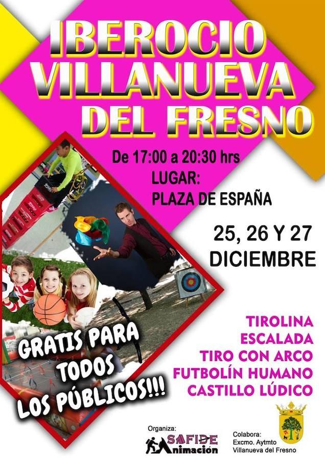 La plaza de España acoge diversas actividades recreativas y deportivas esta Navidad