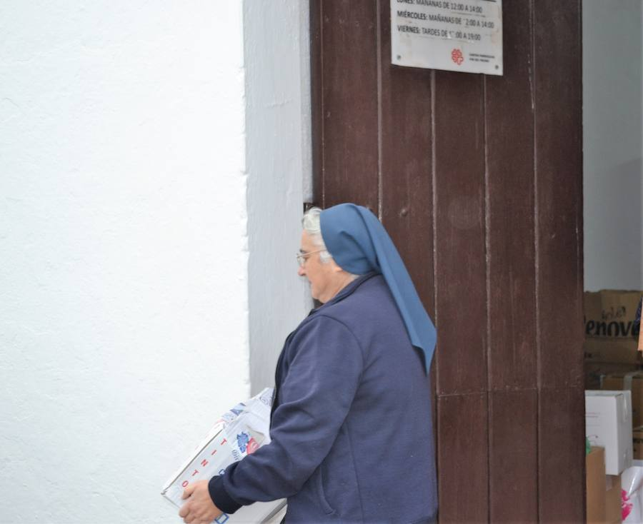 La campaña del kilo de Cáritas Parroquial arrancará este 28 de diciembre