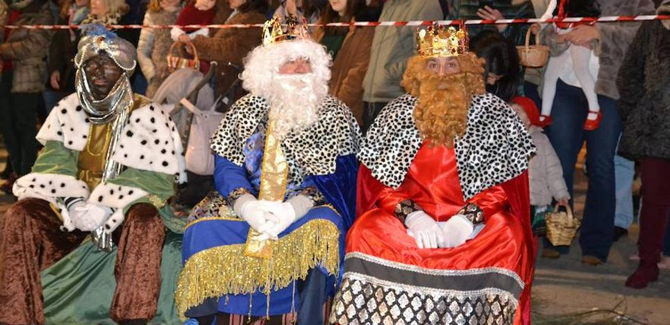 La llegada de los Reyes Magos puso fin a los actos navideños