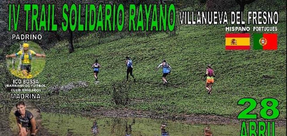 El IV Trail Rayano, de carácter solidario, se hará en plena naturaleza el 28 de abril