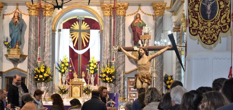 Los actos del besapie al Cristo de la Expiración se realizarán el 1 de marzo