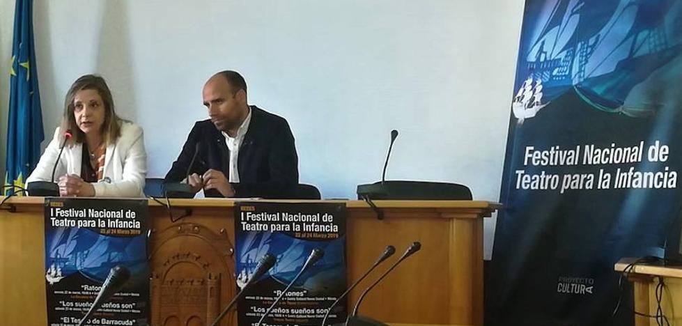 La localidad será la primera extensión del I Festival Nacional de Teatro para la Infancia, REDES