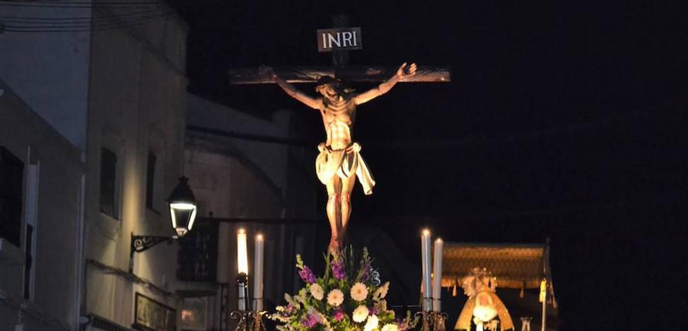 Las procesiones cambian su itinerario debido al corte parcial de la calle Pablo Iglesias
