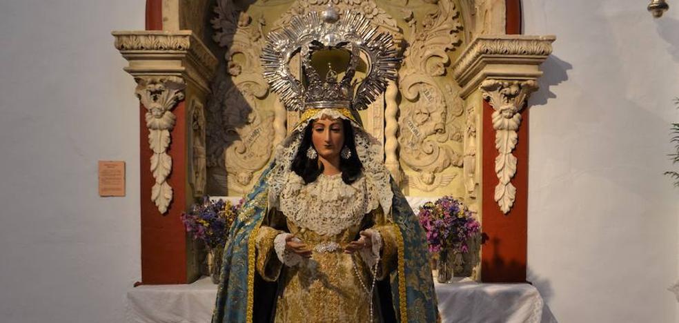 La Virgen que acompaña al resucitado saldrá recién restaurada