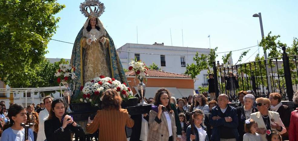 El encuentro entre la Virgen y el Resucitado puso fin a la Semana Santa