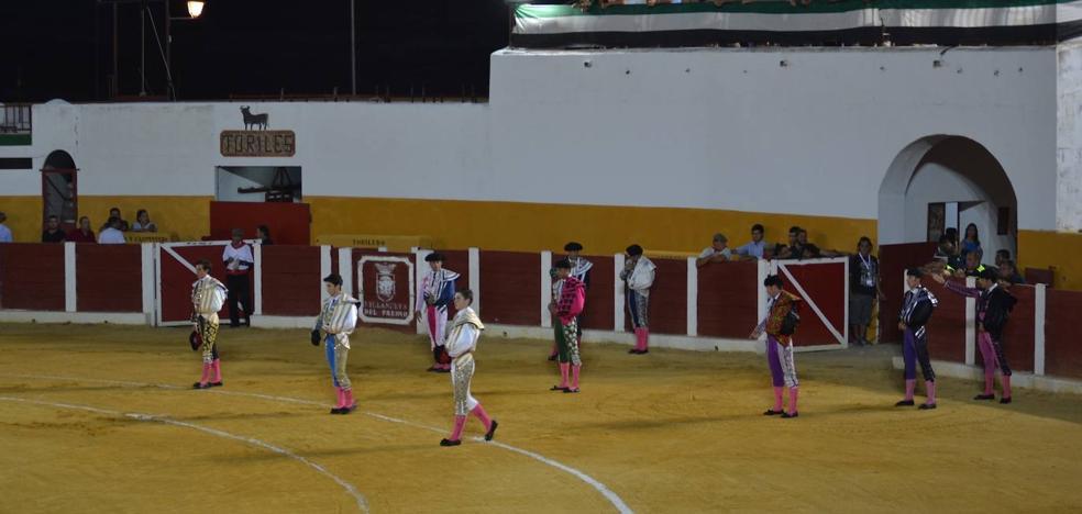 Los novilleros Manuel Perera y Eric Olivera disputarán la final del Certamen de la Diputación