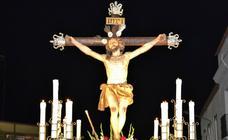 Los fieles podrán admirar el paso del Cristo de la Expiración en su traslado pero sin procesionar