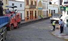 Comienzan los nuevos asfaltados de diversas calles de la localidad
