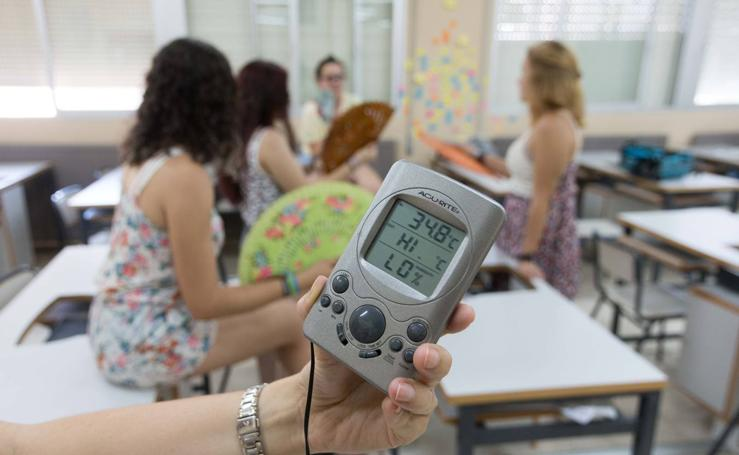 Educación estudia modificar el horario escolar para amortiguar la ola de calor