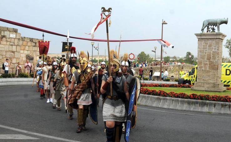 Inauguración de la VIII edición de Emerita Ludica