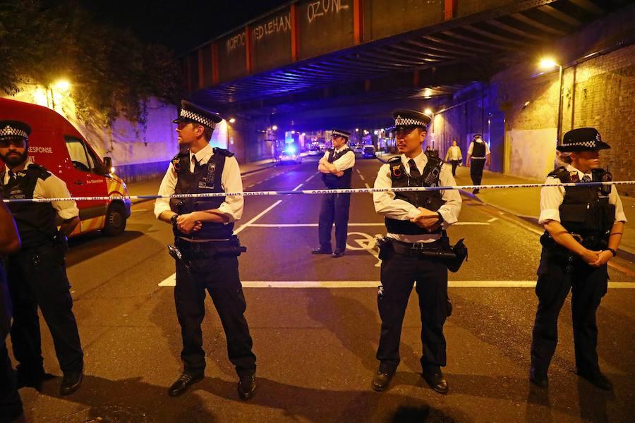 Grandes medidas de seguridad tras un nuevo atropello en Londres
