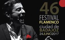 El cantaor David Palomar, artista destacado del Festival de Badajoz