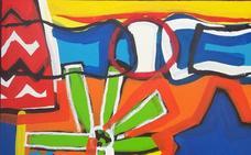 La galería arteJoven trae a Badajoz pinturas del lisboeta João Paramés