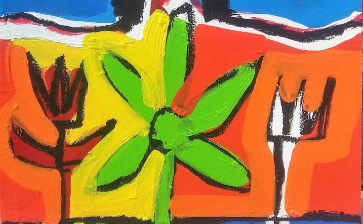 La galería arteJoven trae a Badajoz pinturas de João Paramés