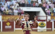 Ginés Marín inicia su reinado en Badajoz