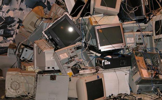 Resultado de imagen para chatarra electronica